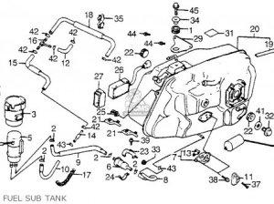 Honda Vt1100c Shadow 1100 1986 Usa parts list partsmanual partsfiche