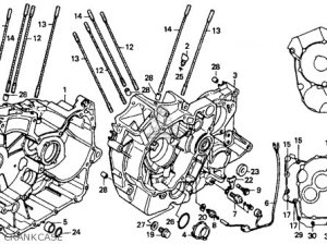 Honda Vt1100c Shadow 1100 1989 Usa parts list partsmanual partsfiche