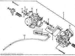 Honda Vt750c Shadow 1983 (d) Usa parts list partsmanual