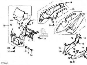 Honda Vtr250 Interceptor Vtr 1988 (j) Usa parts list
