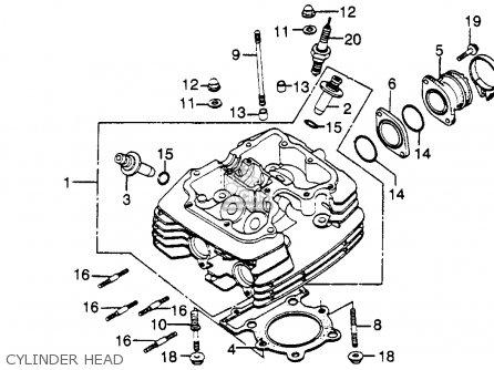 Honda Xl500r Parts Diagram