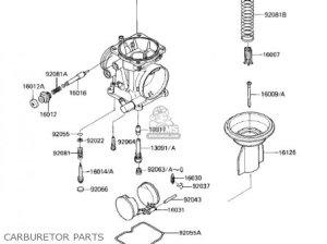 Kawasaki 1986 Ex250e1 Ninja 250r parts list partsmanual partsfiche