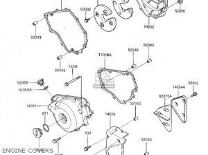 Kawasaki 1987 Ex250e2 Ninja 250r parts list partsmanual