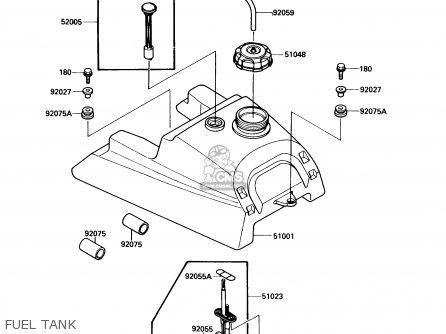 kawasaki bayou 400 engine diagram kawasaki fb460v parts