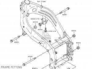 Kawasaki ZX400L1 ZXR400 1991 EUROPE UK FR AR FG GR IT NR