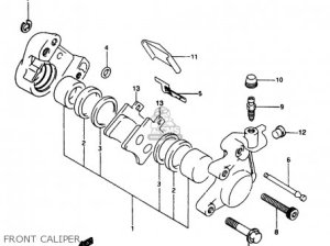 Suzuki Ap50 1997 (v) parts list partsmanual partsfiche