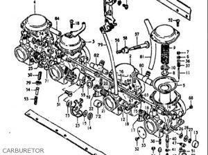 Suzuki Gs850 G 19801981 (usa) parts list partsmanual