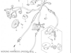 Suzuki Ls650 P Savage 19962004 (usa) parts list partsmanual partsfiche
