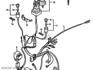 Suzuki Ltf160 1990 (l) parts list partsmanual partsfiche