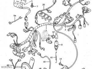 Harness,wiring Rf600ru 1996 (t) 3661021E11