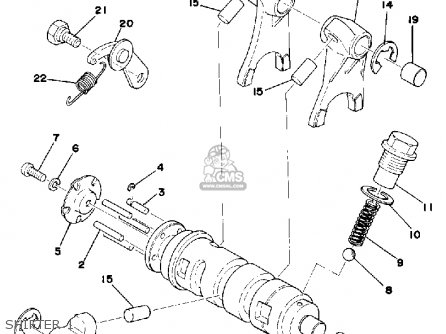 Yamaha Dt100 Parts List