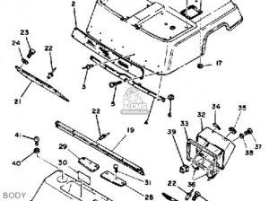Yamaha G1AM4 GOLF CAR 1984 parts lists and schematics