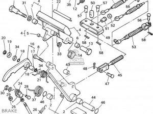 Yamaha G14am 1995 parts list partsmanual partsfiche