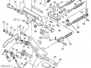 Yamaha G19eper 19961997 parts list partsmanual partsfiche