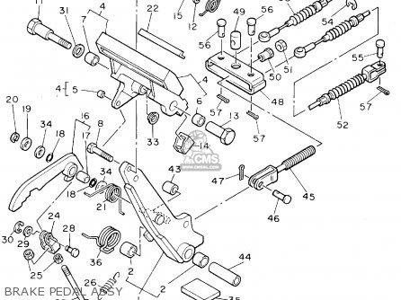 Yamaha Golf Cart Rear End Parts Diagram