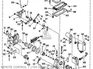 Yamaha Outboard Rigging 19941996 parts list partsmanual partsfiche