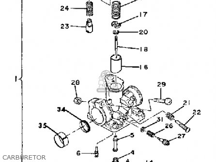 Honda Fourtrax Carburetor Schematic