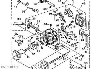 Yamaha Tdm850 1992 (n) Usa parts list partsmanual partsfiche