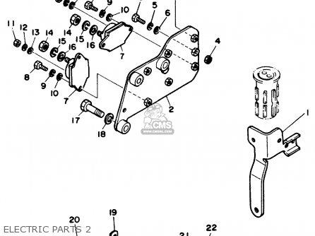 Yamaha V6 4 3 Stern Drive Engine Parts Lists And