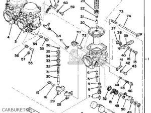 Yamaha Xs7502d 1977 parts list partsmanual partsfiche