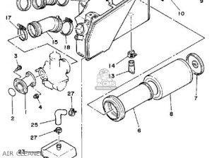 Yamaha Yfm200n 1985 Moto4 parts list partsmanual partsfiche
