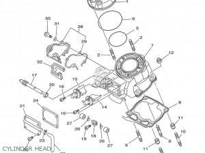 Yamaha Yz1251 2001 (1) Usa parts list partsmanual partsfiche