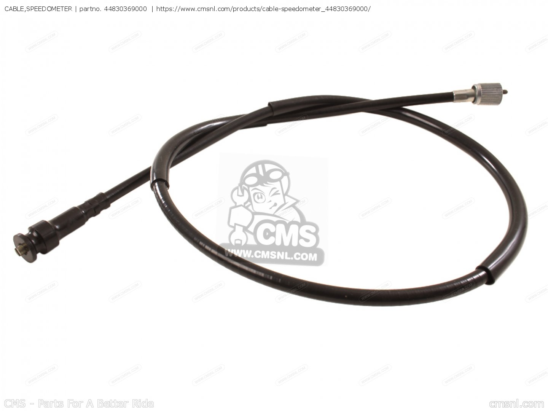 Honda Cb500t Cb550 Speedo Cable