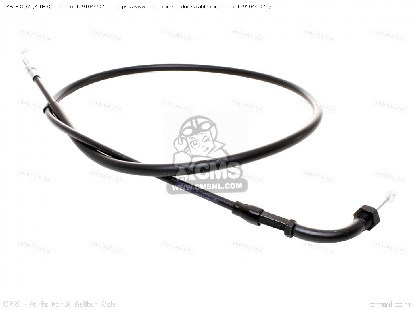 Cable Comp A Thro For Cx500c Custom A Australia