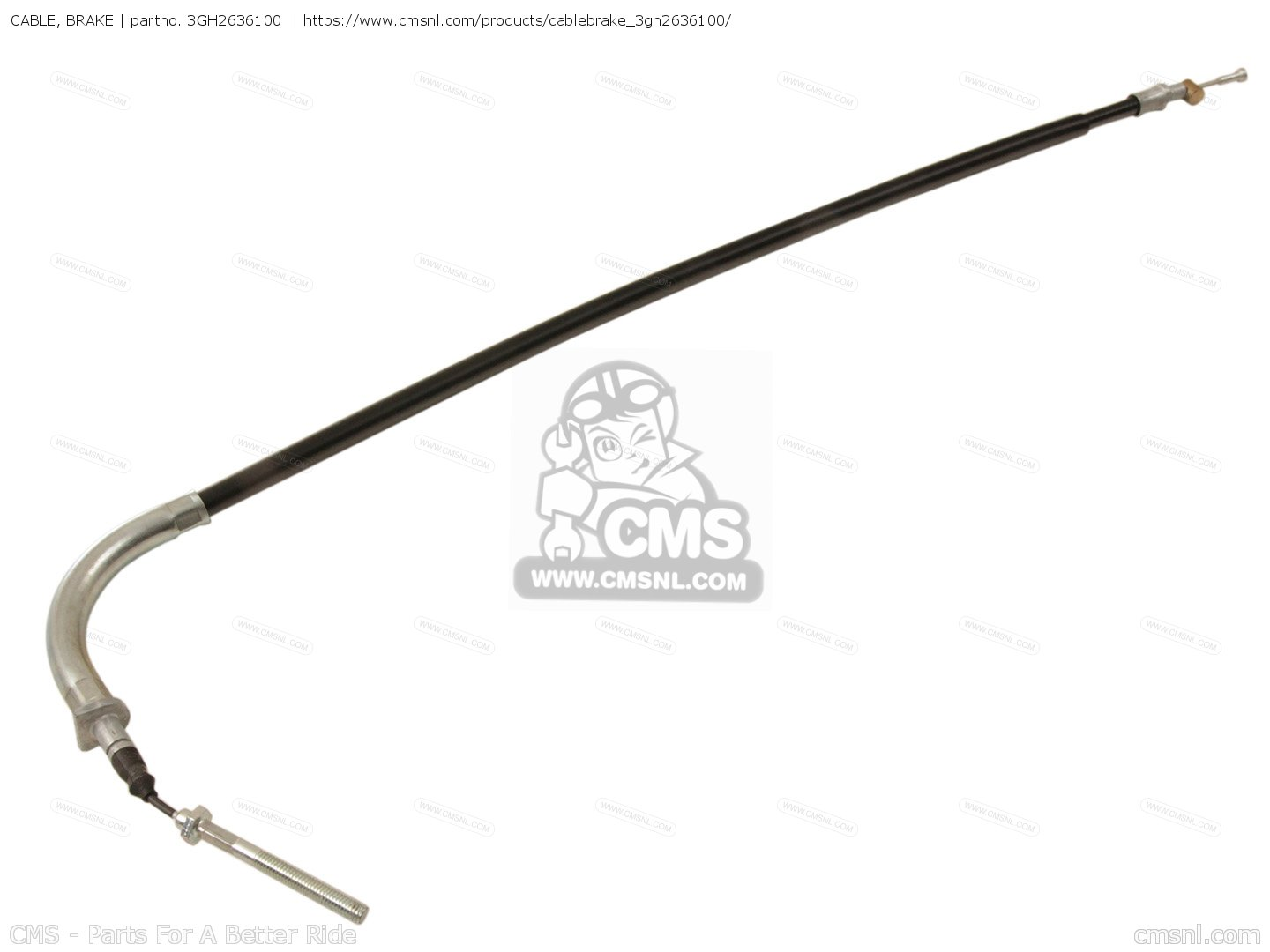 Cable Brake For Yfm250w Moto 4