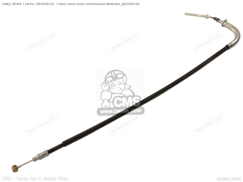 Cable Brake For Yfm250w Moto 4