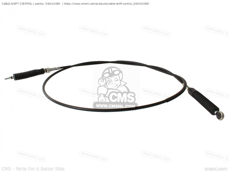 Cable Shift Control Kawasaki
