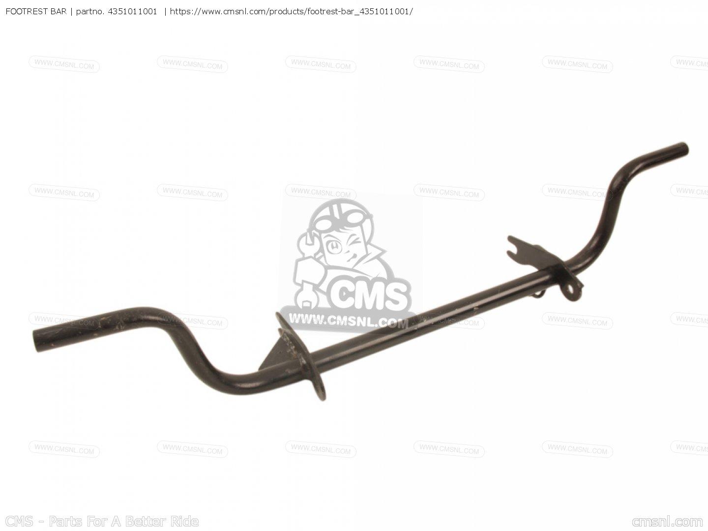 Footrest Bar For T20 Tc250 Scrambler General