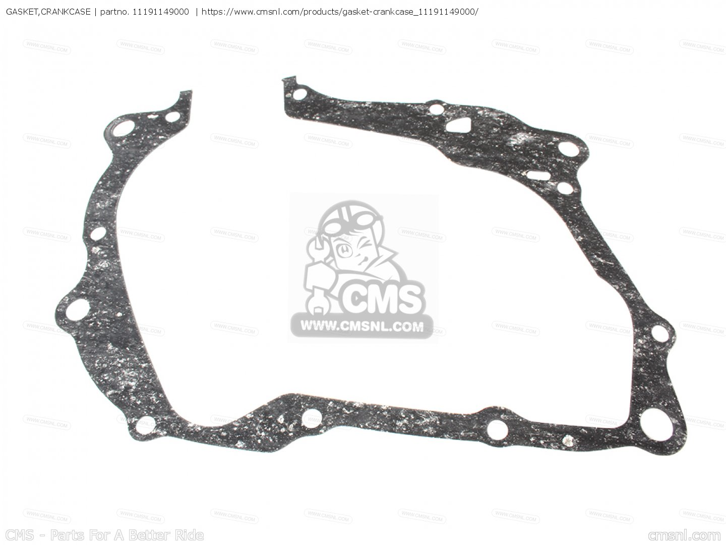 Gasket Crankcase Mca For Cy80 Z France