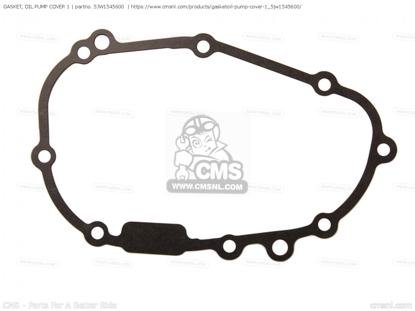 Gasket Oil Pump Cover 1 Fjr Fjr C 3 Usa