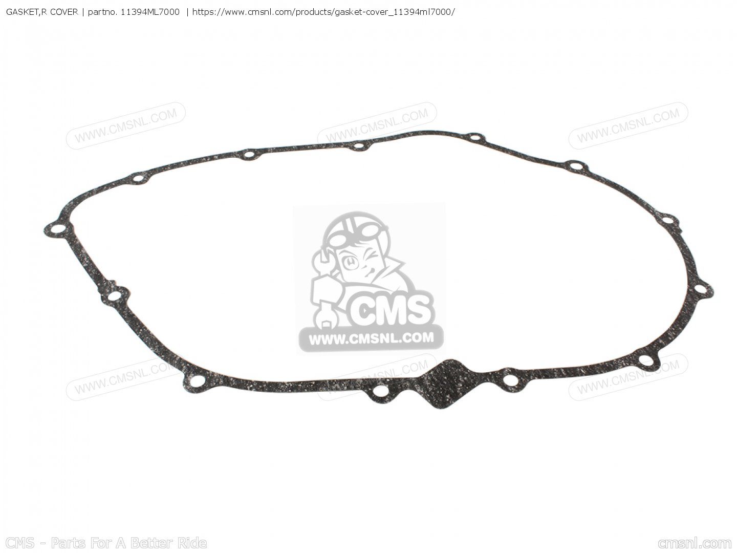 Gasket R Cover Mca For Vfr750r Rc30 J Germany