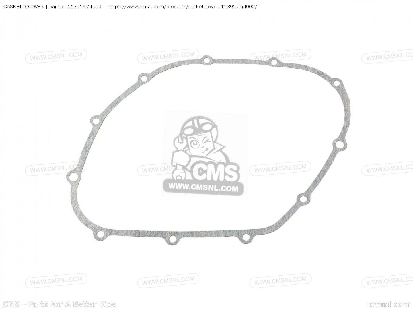 Gasket R Cover For Ns400r F Australia