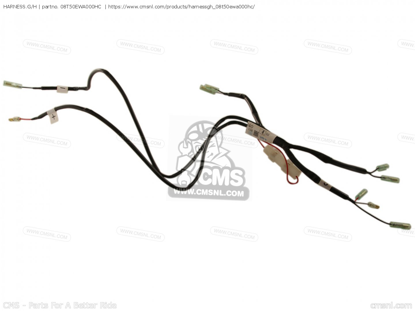 Harness G H For Nt700v 8 European Direct Sales