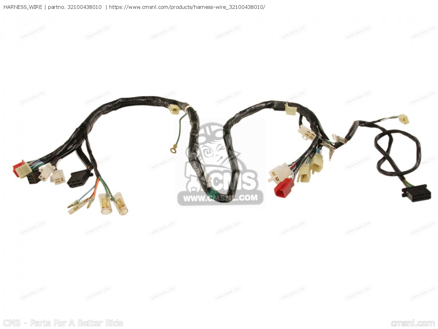 Harness Wire For Cb900f2c Bol D Or