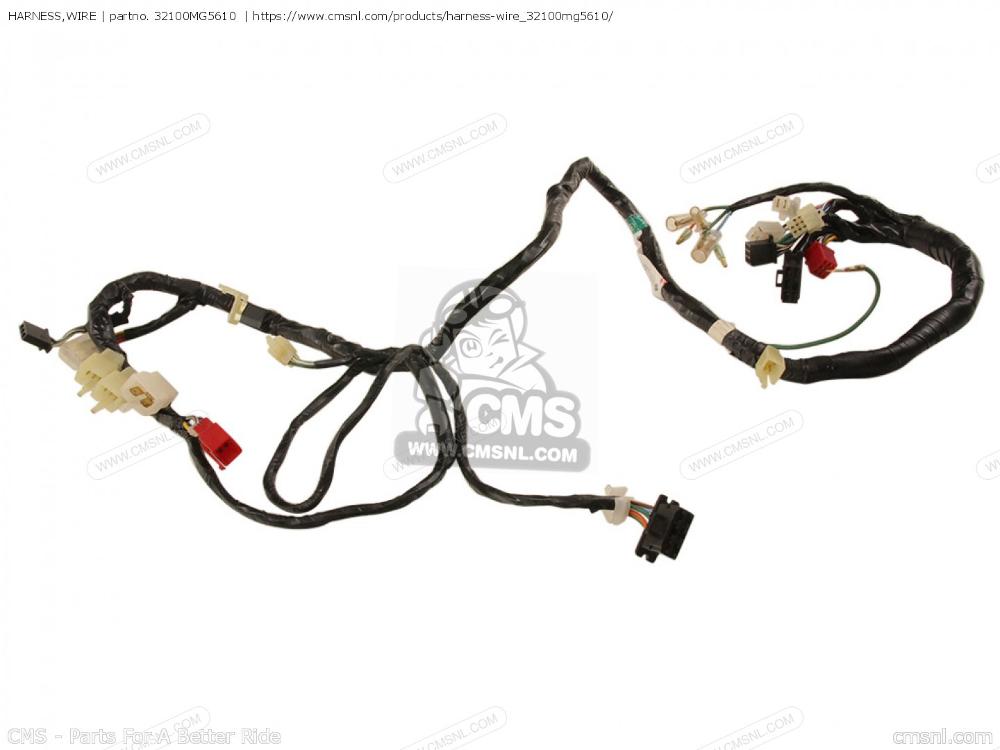 Harness Wire For Cb F D Italy