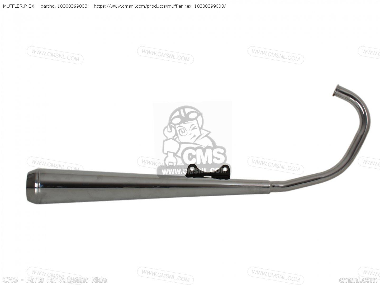 Muffler R Ex For Cb125t Belgium