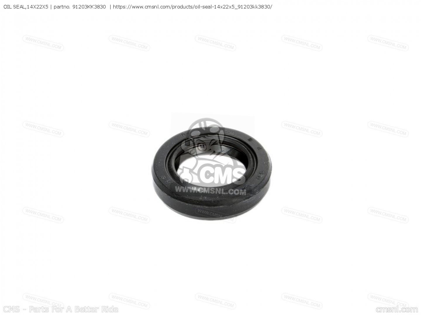 Kk Oil Seal 14x22x5 Honda
