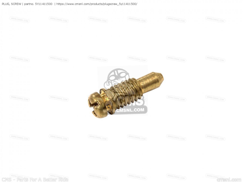 Plug Screw For Srx600 1xl Europe 261xl 300e1