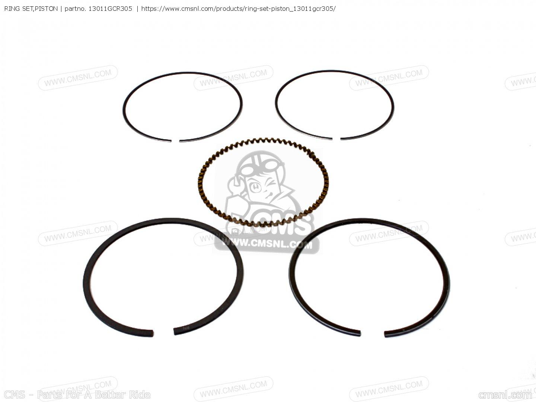 Ring Set Piston For Cb50v Dream Japan 11gcrvj3