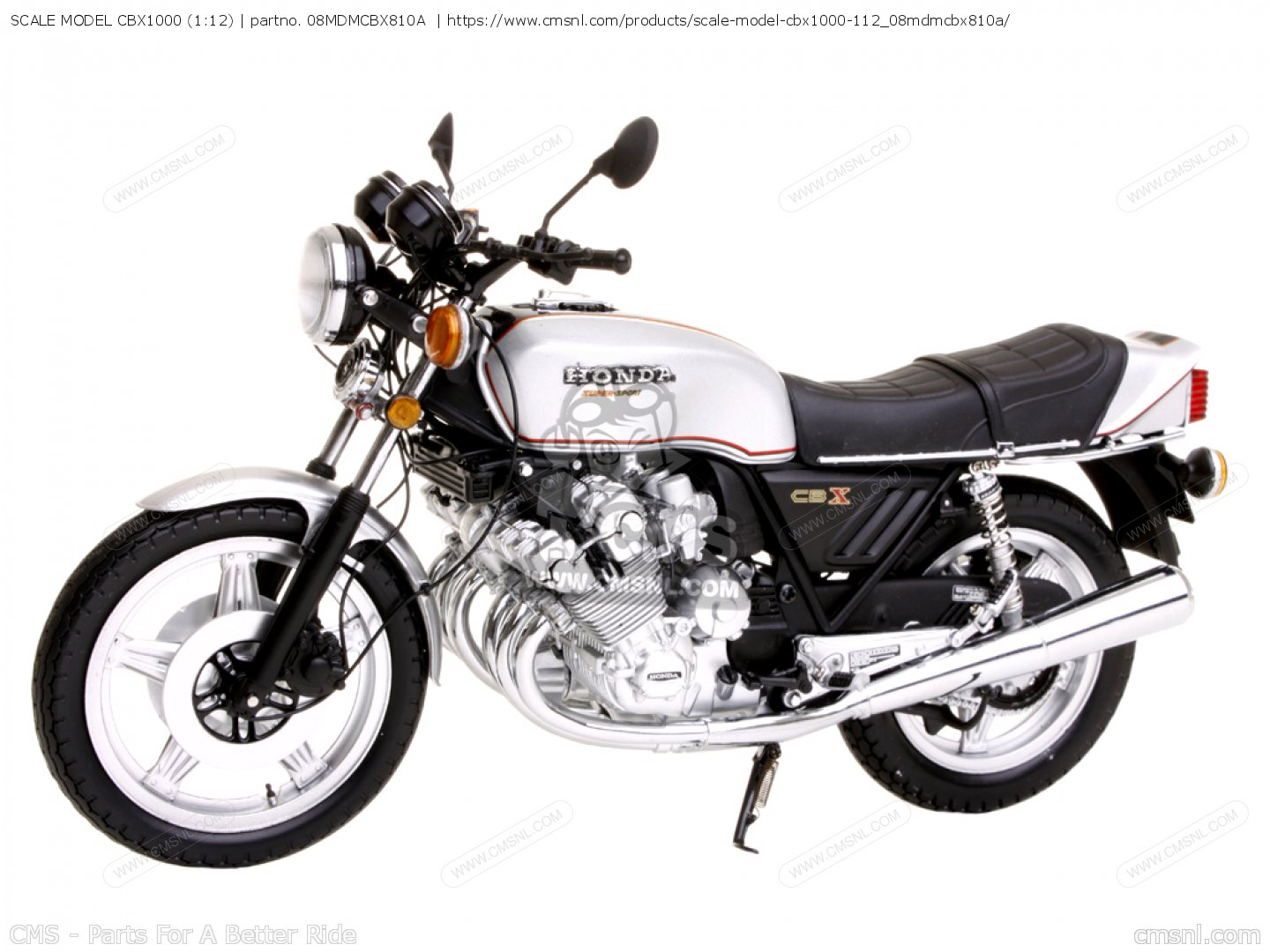 Honda Cbx Scale Model