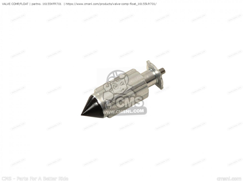 Kfr701 Valve Comp Float Honda