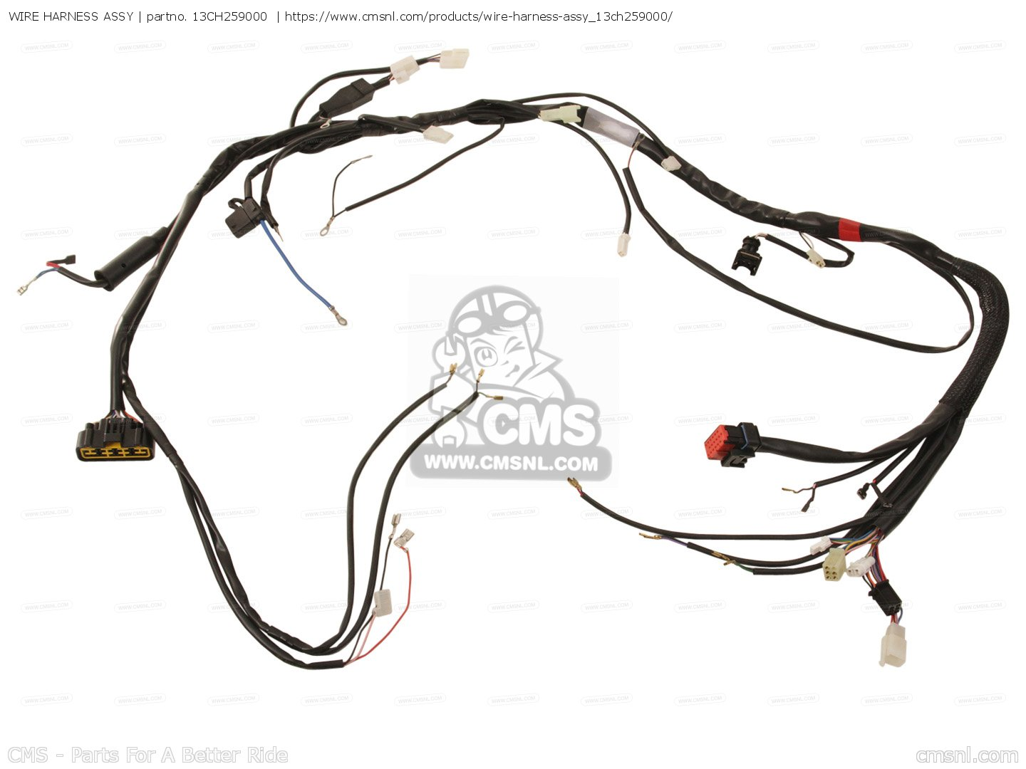Wire Harness Assy For Dt50r 13c9 Europe 1j13c 300e1