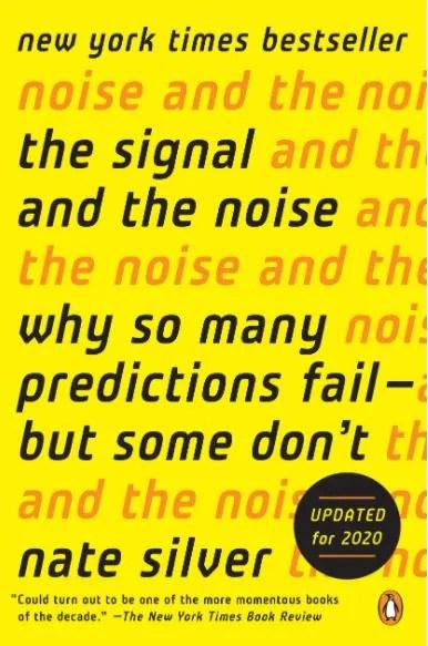 В этой книге Сильвер упрощенно объясняет концепции статистики и аналитики на примерах из политики, бейсбола, погоды и других областей.  Источник изображения: Amazon.com