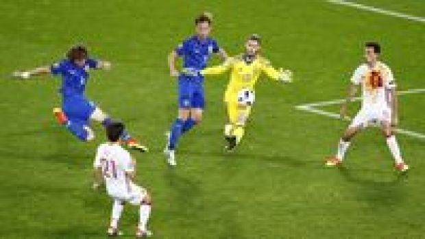 Spanyol Tumbang 1-2 dari Kroasia