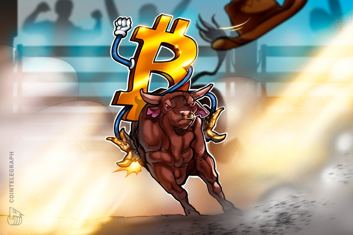 Dip-buying bulls push Bitcoin price to a new all-time high at $36,574