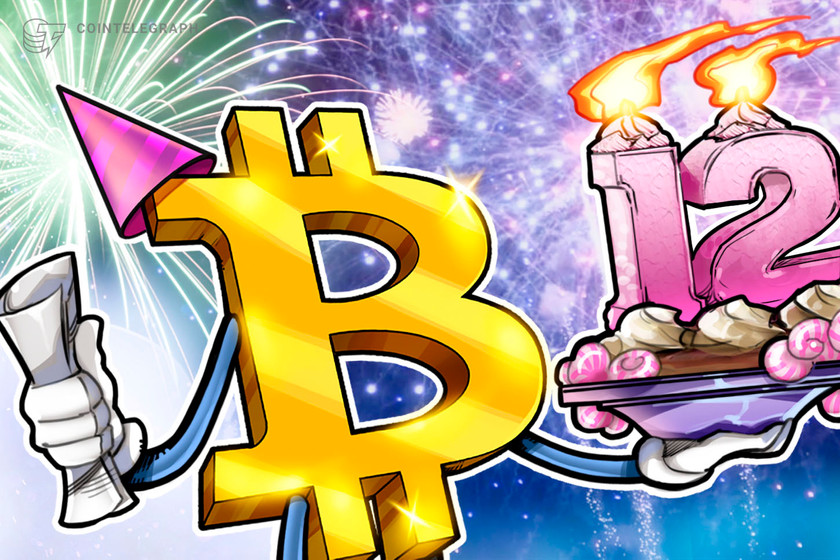 Happy birthday dear Bitcoin: Crypto's first white paper turns 12